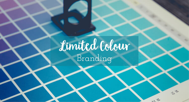 limited colour branding, discussing colour use within your logo and branding