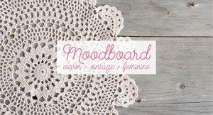 moodboard serices branding at work warm vintage feminine brand