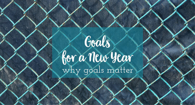 Goals for a New Year, Why Goals Matter.