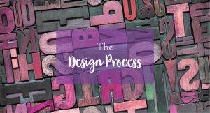 the design process explaining graphic design