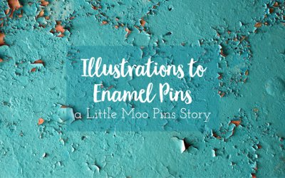 Illustrations to Enamel Pins | a story