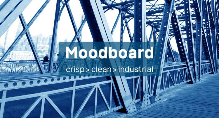 Moodboard: Clean Crisp Industrial